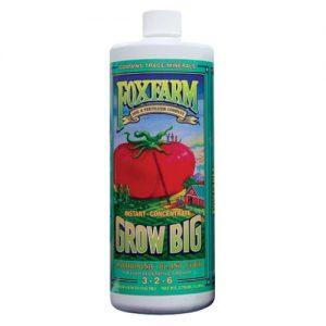 Grow Big - Hydroponic Formula, 3-2-6 Quart