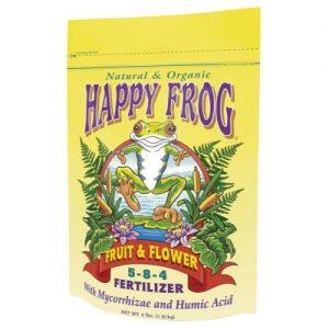 Happy Frog Fruit/Flower, 5-8-4 4lb