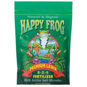 Happy Frog Premium Lawn Fertilizer, 8-2-6 4lb