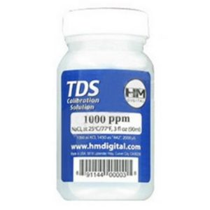TDS 1000PPM NaCI Calibration Solution 3 oz