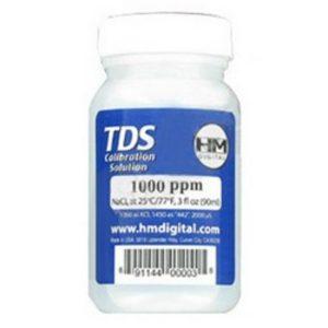 TDS 1000PPM NaCI Calibration Solution 3 oz