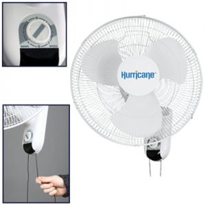 16in Wall Mount Oscillating Fan