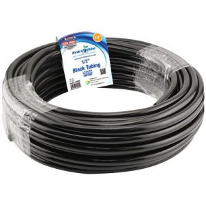 1/2 in. ID Black Vinyl Tubing per Foot