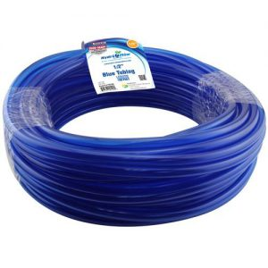 1/2 in. ID Blue Vinyl Tubing, Per Foot