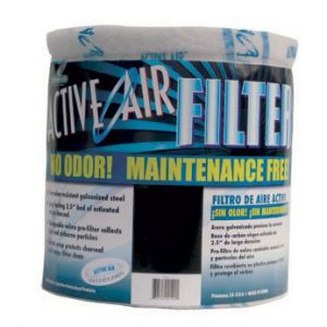 "Active Air Carbon Filter 13""x12"" no flange"